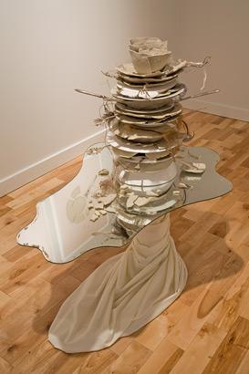 Banquet et vestiges